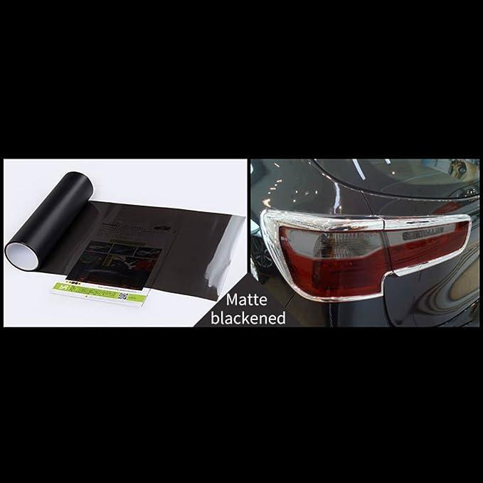 Sedeta/® film phare de voiture SUV arri/ère Feu arri/ère D/écoration Changer la couleur Wrap Film Decal 15 x24 noir lumi/ère