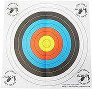 "Safari Choice Bullseye & Gun Paper Target 25"""" x 25"""" (60cm),"