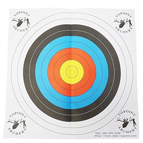 Safari Choice Bullseye and Gun Paper Target (5 Pack), 25