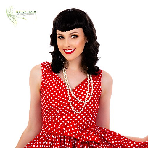 50's Pin Up Costumes - ENJOY THE DIFFERENCE PIN UP Wig