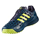 Adidas Adizero Hockey Shoes - Blue/Yellow - UK 7