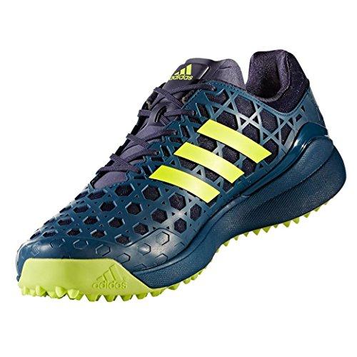 Adidas Adizero Hockey Shoes - Blue/Yellow - UK 7 by adidas
