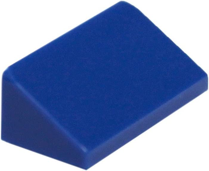 LEGO Parts and Pieces: Blue (Bright Blue) 1x2x2/3 30 Slope x200