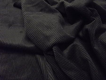Tela de algodón CORDUROY 8 Wale – negro: Amazon.es: Hogar
