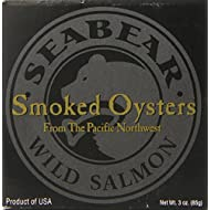 SeaBear Smoked Pacific Oysters, 3 Ounce Unit