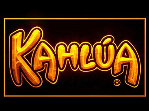 P654Y KAHLUA Liqueur Hub Bar Advertising LED Light Sign P654Y
