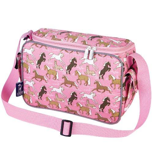 Wildkin Horses in Pink Lunch Cooler