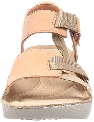 Clarks Sandale Sport Tri Trèfle Womens 4 D (M) UK/37 EU Pink Combi FkiCnh