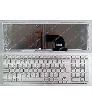 Portatilmovil - Teclado para PORTÁTIL Sony SVE15 Y SVE17 Series RETROILUMINADO: Amazon.es: Electrónica