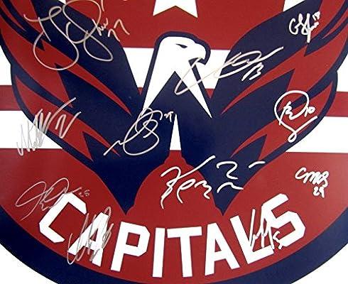 0829273e0 2017-18 Stanley Cup Champions Washington CAPITALS Team Multi SIGNED  AUTOGRAPHED 16 x 20 PHOTO w/COA