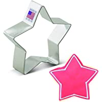 Ann Clark Cookie Cutters Star Cookie Cutter - 3.5 Inches - Tin Plated Steel