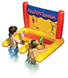 Swimline Inflatable Floating Arcade Shooter Water Gun Swimming Pool Float Toys for Kids with Electric Pump