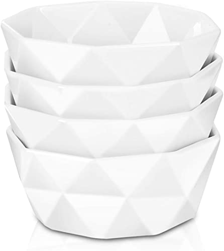Delling 22 Oz Geometric Cereal Bowls
