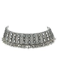 Women Necklace,amazingdeal Rhinestone Chain Choker Statement Bib Necklace