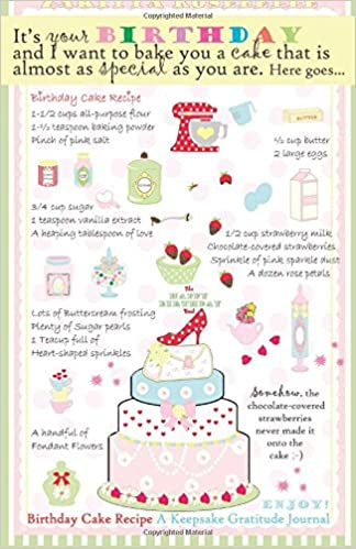 Cool The Happy Birthday Book Birthday Cake Recipe A Keepsake Journal Funny Birthday Cards Online Bapapcheapnameinfo