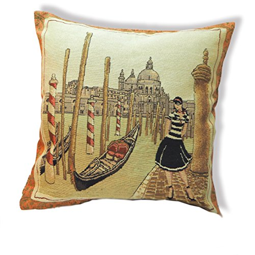tamarind-bay-18-in-luxury-tapestry-throw-pillow-cushion-cover-with-whimsical-venetian-girl-pattern