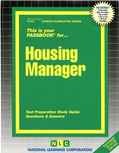 Housing Manager(Passbooks) (Career Examination Series : - Plastic Jack Housing