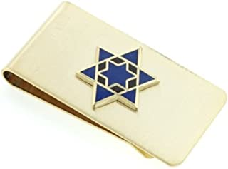 product image for JJ Weston Star of David Money Clip. Made in the USA