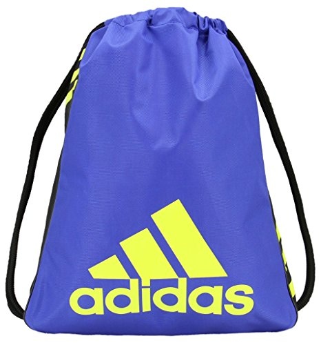Adidas Sackpack Solar Black Blue Burst Semi Yellow rrwpq4S5