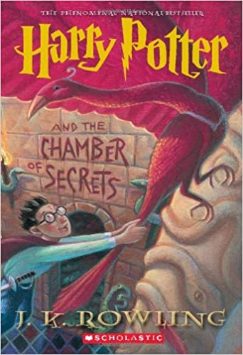 Image result for harry potter and the chamber of secrets book cover