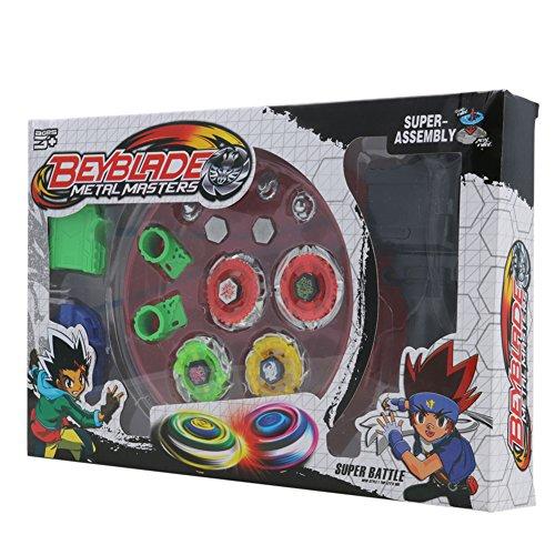 Fusion Toys (Gyro toy set,NNDA CO Metal Rapidity Fight Masters Fusion Constellation Battle Gyro Toy Set)