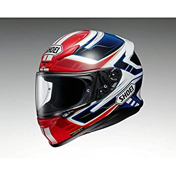 Shoei Casco NXR Valkyrie EGR-/ M, color amarillo/blanco/negro,