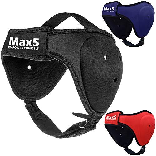 Max5 BJJ Headgear Wrestling Ear Guard MMA Cauliflower Ear Protection Fighting Sparring Helmet