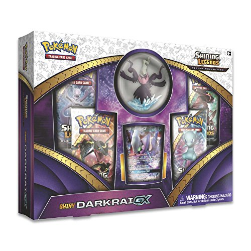 Pokemon Shining Legends Figure Collection-Shiny Darkrai-GX