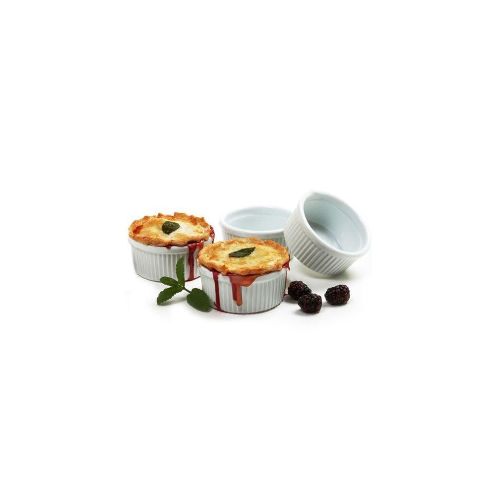 Norpro 260 White 8 Oz. Porcelain Ramekins - 48 / CS