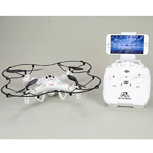Drone 108W Videocamera HD – Wifi – 6 Canales- Headless Mode – Sigue el Live en tu smartphone iPhone o Android – Rotation flip