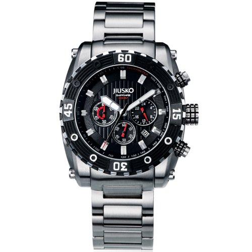 Jiusko Men's 52LSB02 Deep Sea Series Analog Display Quartz Silver Watch by JIUSKO