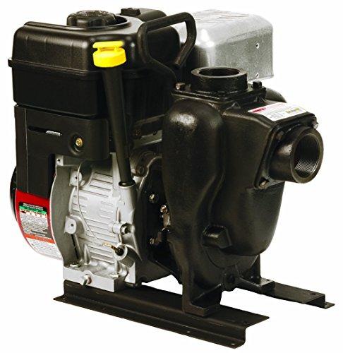 Banjo 200PI6PRO Cast Iron Centrifugal Pump, Gas Engine, 100' Maximum Head, 6.5 hp, 3600 RPM, 40 psi Pressure, 2