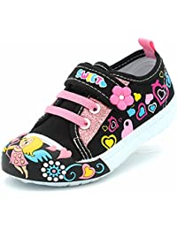 Canvas Sneakers Shoes for Toddler Girls Infant Baby...