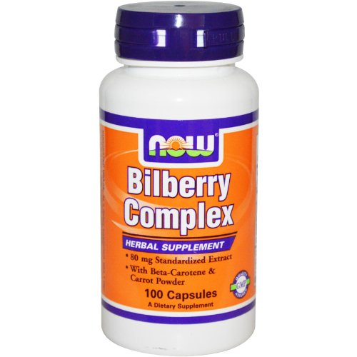 NOW Foods Bilberry Complex Plus
