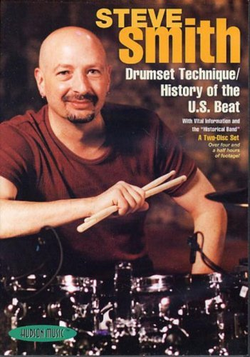 Steve Smith-Drumset Technique/History of the U.S. Beat DVD (Wholesale Beats)