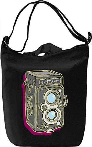 Tlr camera Borsa Giornaliera Canvas Canvas Day Bag| 100% Premium Cotton Canvas| DTG Printing|