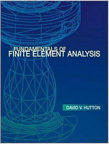 Fundamentals of Finite Element Analysis
