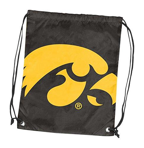(Logo Brands NCAA Iowa Hawkeyes Adult Double Header String Pack, Black)