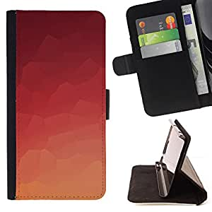 Jordan Colourful Shop - Orange Tile For Apple Iphone 5 / 5S - Leather Case Absorci???¡¯???€????€???????????&AE