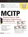 img - for MCITP: Windows Server 2008 Enterprise Administrator Certification Kit by Michael Aldridge (2009-02-03) book / textbook / text book