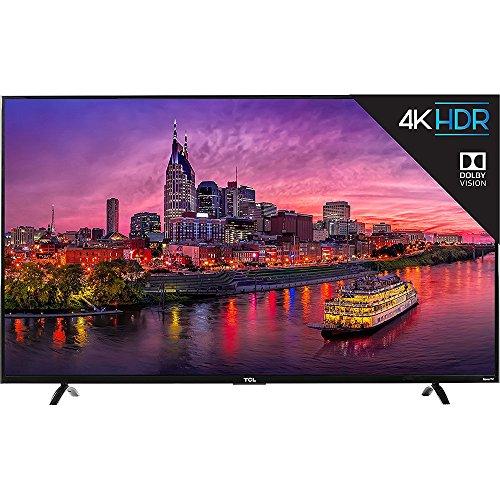 TCL 55P607 55-Inch 4K Ultra HD Roku Smart LED TV (2017 Model)