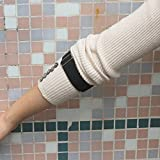 Two Unisex Elastic Adjustable Armbands Shirt Garters Sleeve Hold Ups Arm Sleeve Garters Shirt Sleeve Holders