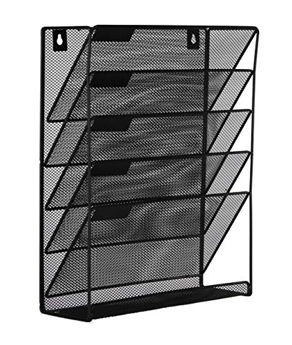Easypag Mesh Wall Mounted File Holder Organizer Literature