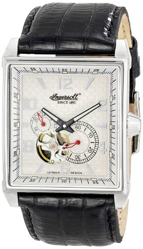 Ingersoll Men's IN6908WH Lane Analog Display Japanese Automatic Black Watch