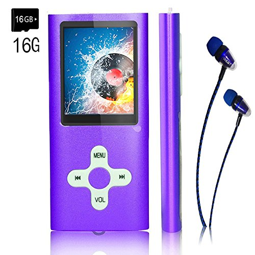 MP3 Player/Music Player,EVASA with a 16 GB TF Card Portable