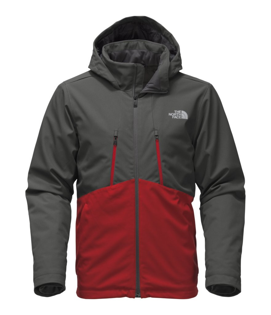 The North Face Men's Apex Elevation Jacket - Asphalt Grey/Cardinal Red - XL (Past Season) by The North Face