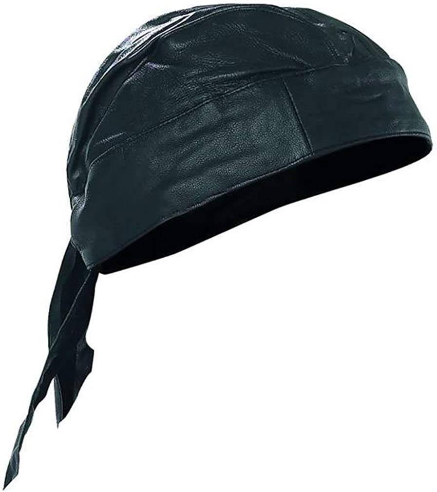 Lambskin Leather Skull Cap At Amazon Men S Clothing Store Mens Hats And Caps