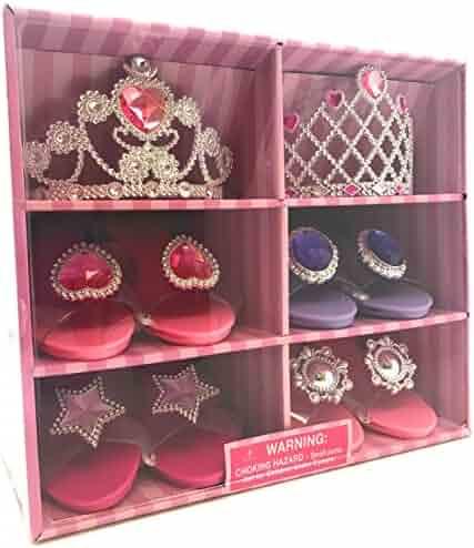 Oojami Perfect Touch Play Set Princess Dress Up & Play Shoe & Tiara