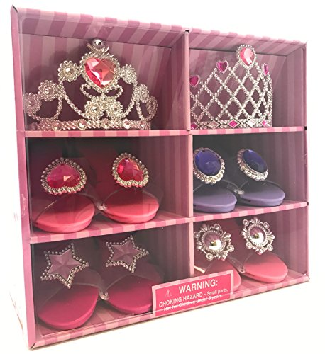 Oojami Perfect Touch Play Set Princess Dress Up & Play Shoe & Tiara