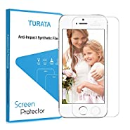 iPhone SE Screen Protector - TURATA Premium Crystal Clear Unique Material Ultra Thin for iPhone 5 / iPhone SE Protection from Bumps Drops Scrapes